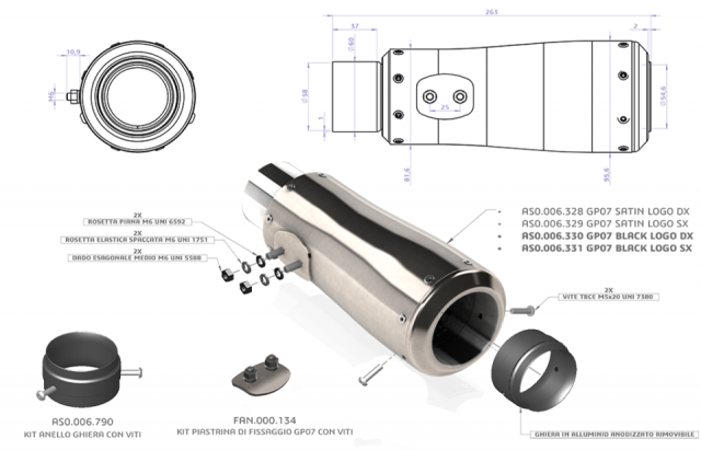 GP07 dBkiller Racing 40mm