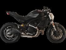 EVOXTREME 260mm Inox Negro Racing Colector Espiral