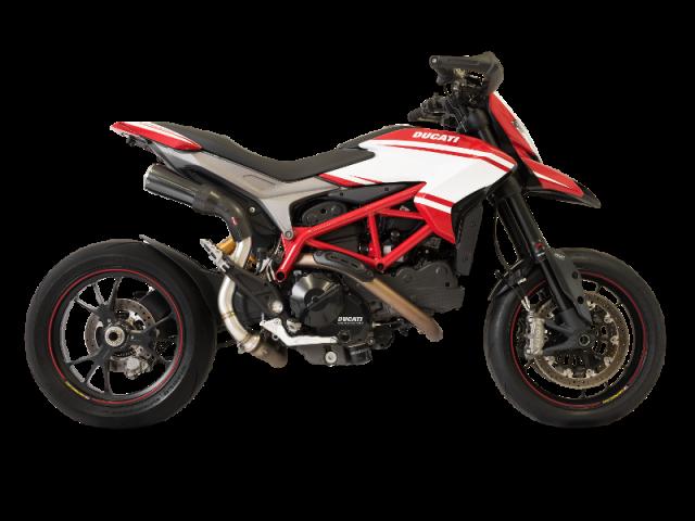 DUCATI Hypermotard/Hyperstrada 821 Racing Negro