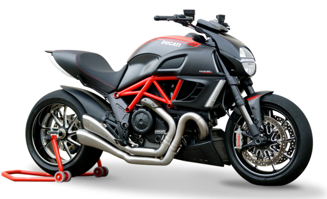 DUCATI Diavel Factory
