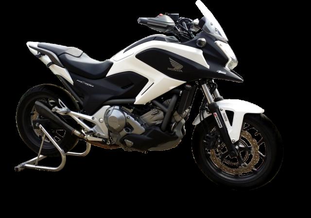 HONDA NC 700-750 S/X 2012-2015 Negro