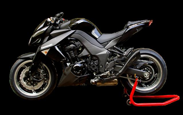 KAWASAKI Z-1000 /SX 2010-2015 Negro