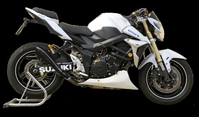 SUZUKI GSR 750 2011-2016 Negro