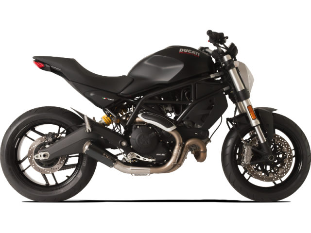 DUCATI Monster 797 Recto Negro (rejilla)