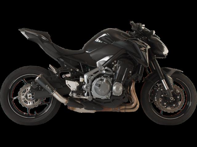 KAWASAKI Z 900 2017-2018 Racing Negro (rejilla)
