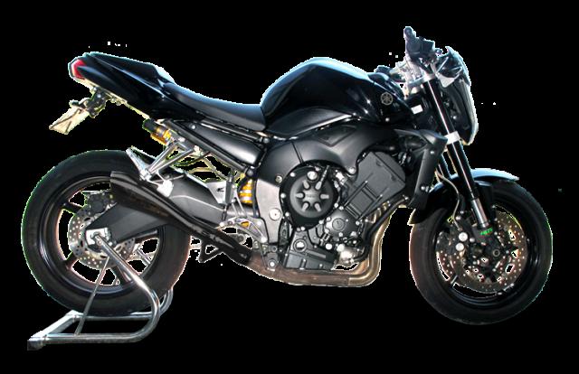 YAMAHA FZ1 2006-2016 Racing Negro